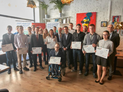 19 talented students gained support for their career development
