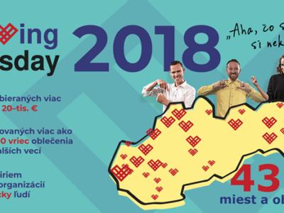 Ako Slovensko pomáhalo počas #GivingTuesday 2018