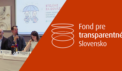 Prvý polrok vo Fonde pre transparentné Slovensko