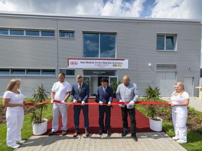 Výrobný závod Kia Motors Slovakia slávnostne otvoril vlastné zdravotné stredisko na prevenciu chorôb
