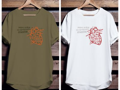 Predstavujeme tričká na NAŠE MESTO 2019!