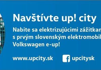 Volkswagen Slovakia pokračuje s up! city aj v roku 2018