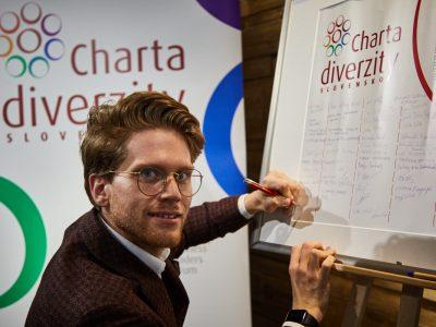 Slávnostný podpis Charty diverzity novými signatármi