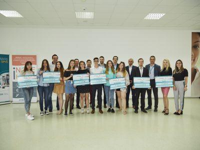 V spoločnosti Embraco stredoškoláci verejne prezentovali svoje biznis nápady v rámci programu iNOVEum