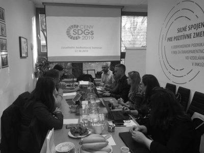 Poznáme finalistov prvých Cien SDGs