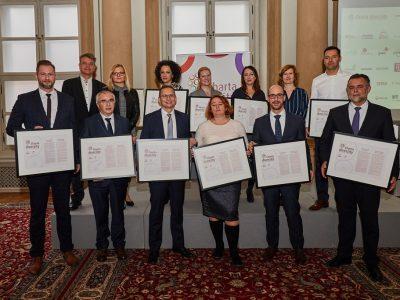 K Charte diverzity sa pridalo 10 signatárov, medzi nimi i Kancelária prezidenta SR či mesto Bratislava