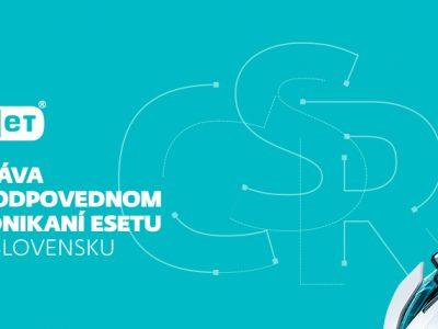 ESET vydáva svoju prvú správu o zodpovednom podnikaní