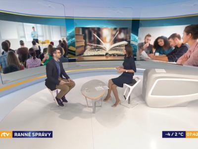 O Generácii 3.0 v Ranných správach na RTVS