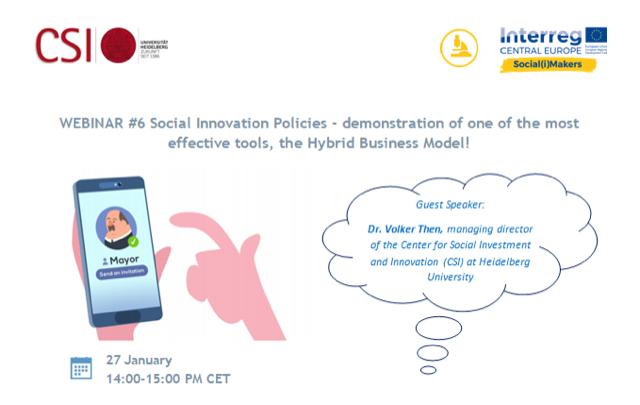 Webinár   Politiky sociálnej inovácie – hybridné biznis modely v praxi