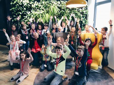 V Accenture privítali deti svojich zamestnancov v inovačnom centre