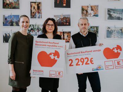 Kaufland finančne podporil Centrum voľného času vo Svidníku