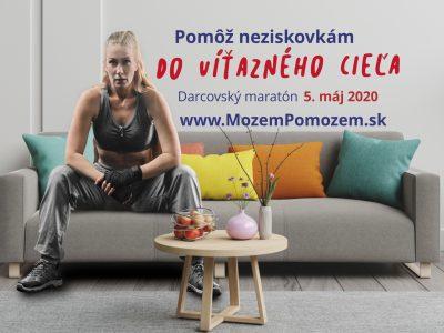 Slováci sa pripoja k maratónu, ktorý zabehnú aj z obývačky