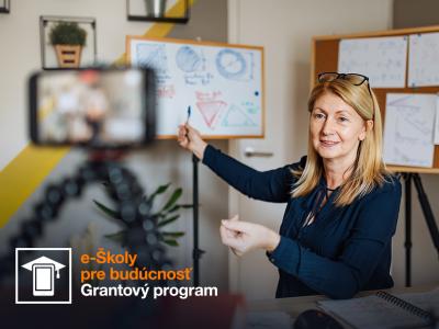 Nadácia Orange otvára grantový program e-Školy pre budúcnosť