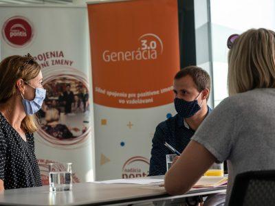 Otvárame prihlasovanie do programu Generácia 3.0 pre rok 2021